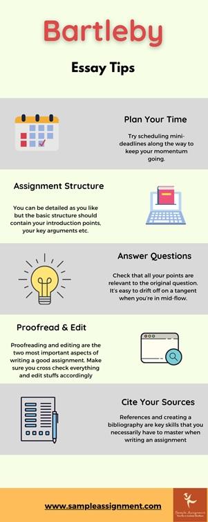 bartleby essay tips