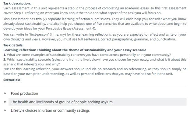 persuasive essay assessment help