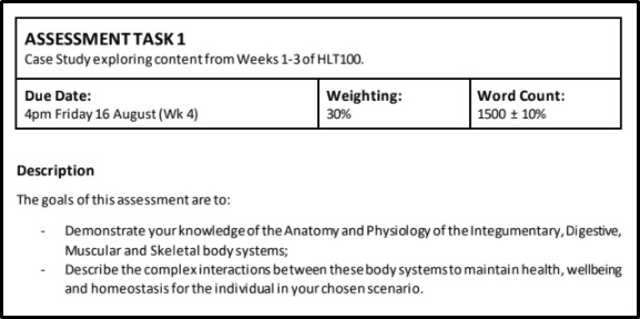 physiology assignment question