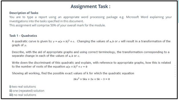 precalculus assessment