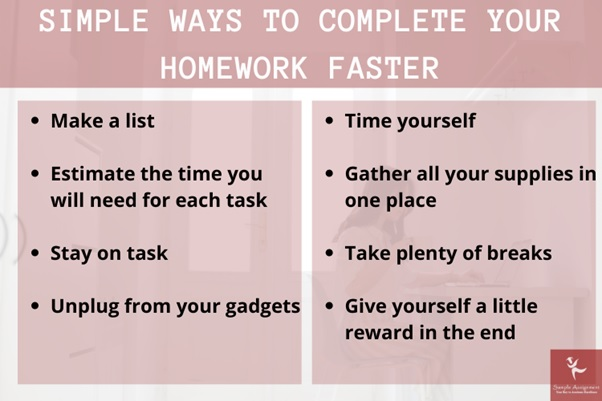 complete your homework