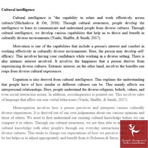 cultural studies dissertation sample online