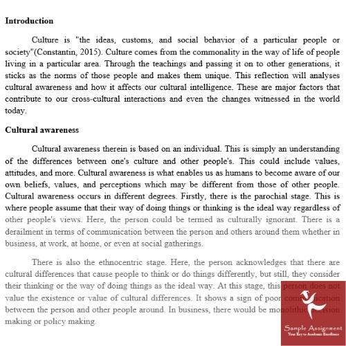 cultural studies dissertation sample