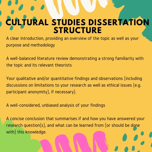cultural studies dissertation