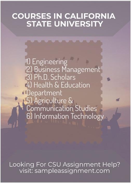 california state university courses