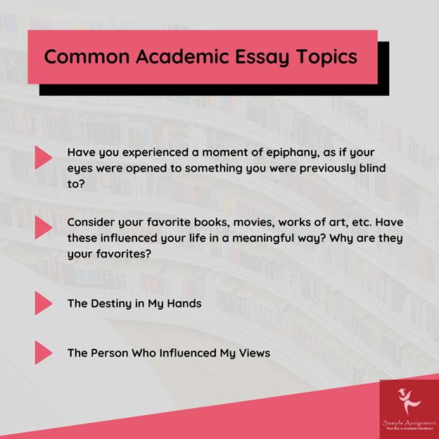 academic essay topics