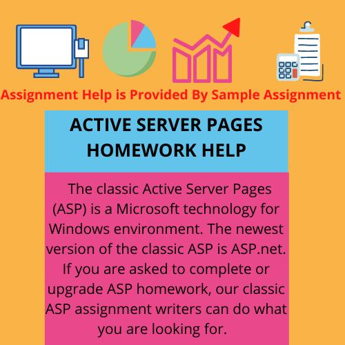 active server pages homework help