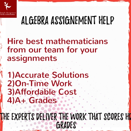 algebra assignment solution