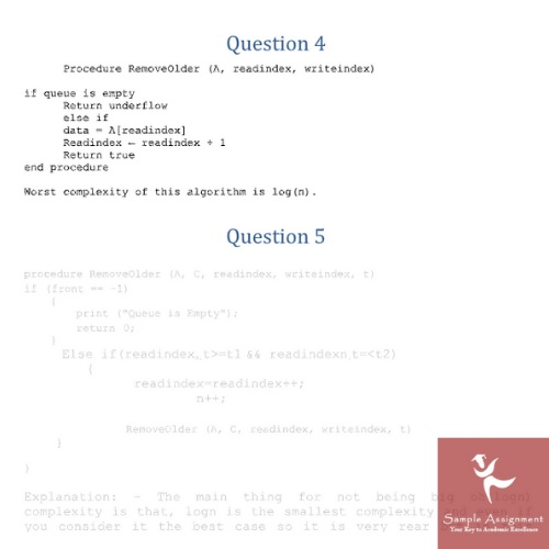 algorithm assignment solution