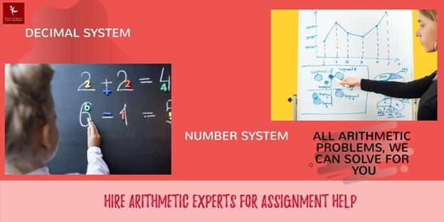 arithmetic homework help
