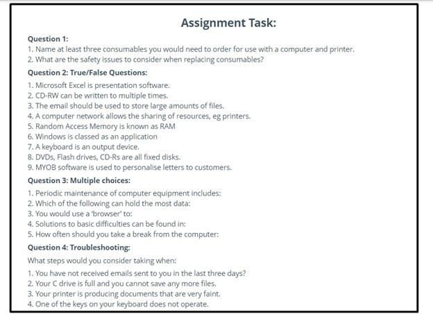 assignment task help