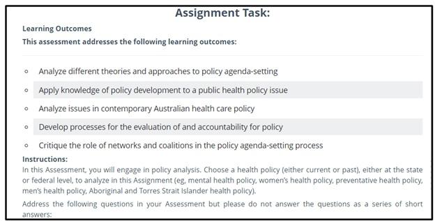 academic assistance through online tutoring