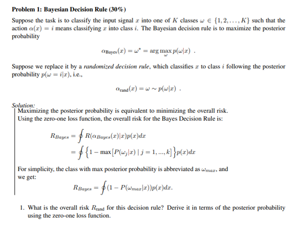 bayesian estimation homework question