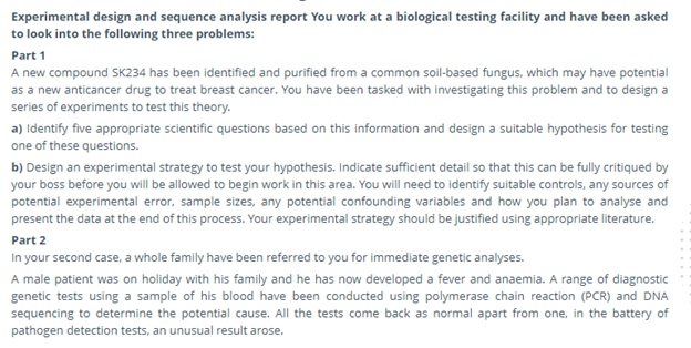 biotechnology homework help online