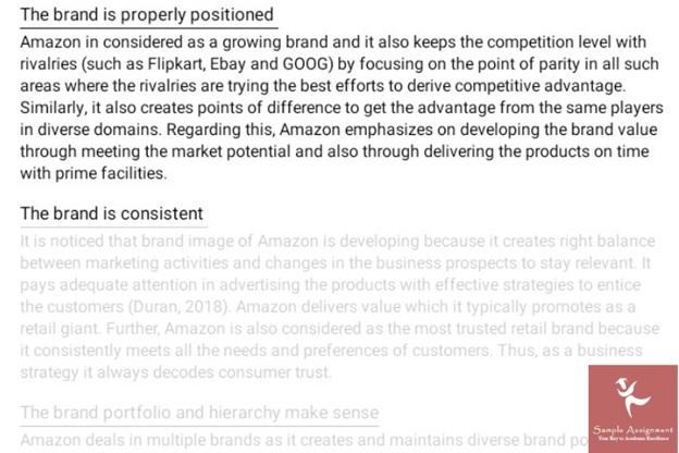 brand management assignment sample online