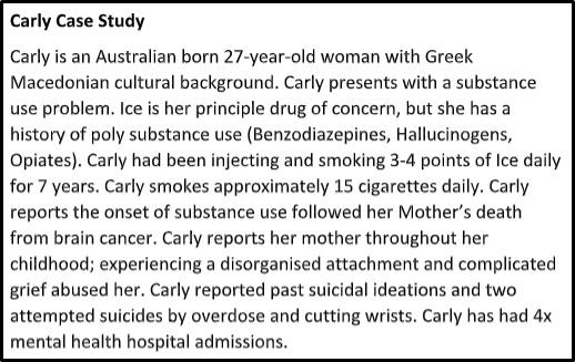carly case study help