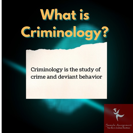 criminology research paper homework help