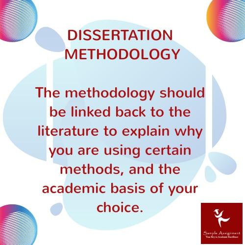 dissertation mathodology