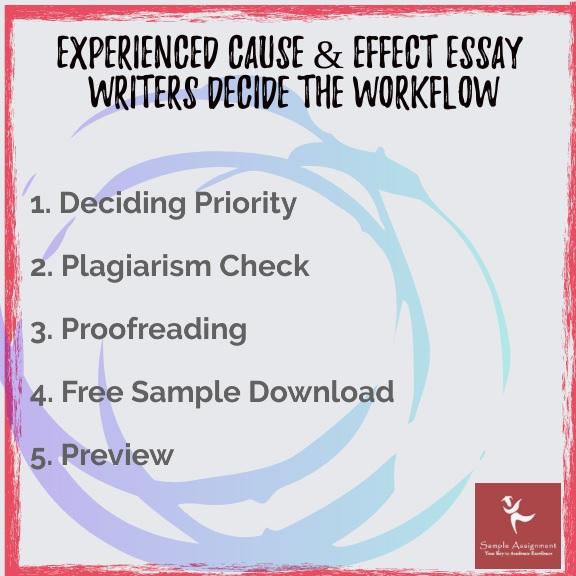 effect essay writers