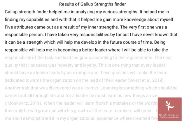 help with leadership assignment
