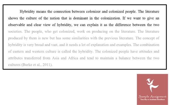 informal essay assignment sample
