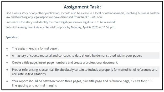 journalism homework question sample