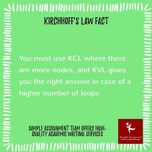 kirchhoffs law fact