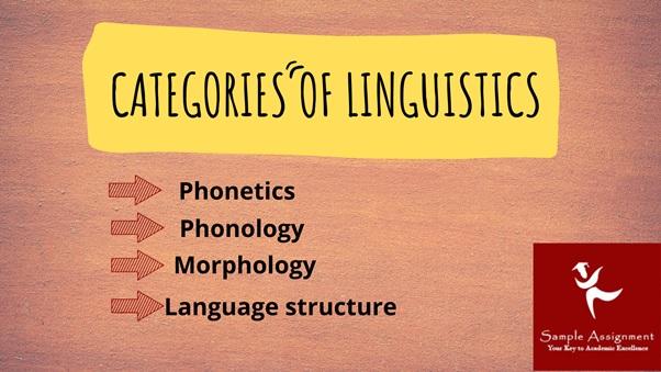 linguistics categories