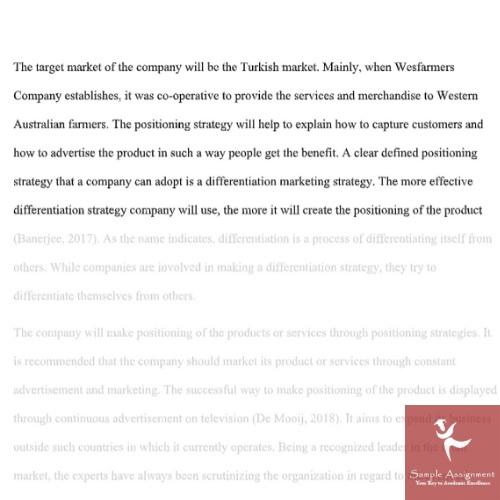 marketing management homework sample online