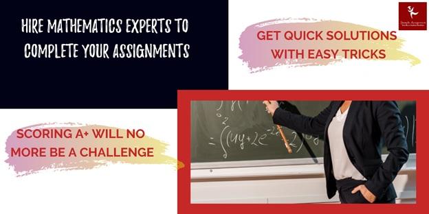 mathematics assignment help canada