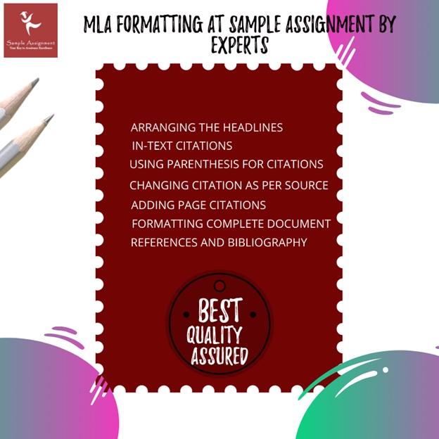 mla format essay sample