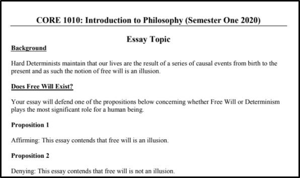 philosophy homework help online