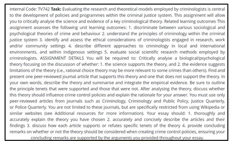 rational choice theory homework online
