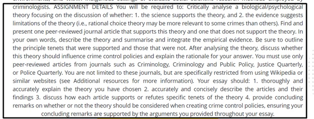 rational choice theory homework