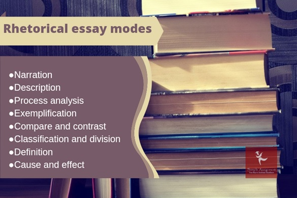 rhetorical essay modes