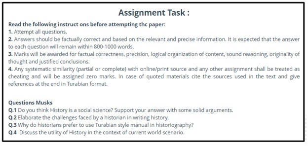 social science assignment