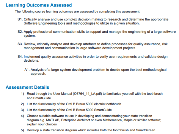 software engineering assessment