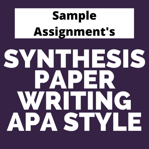 synthesis paper writing apa style