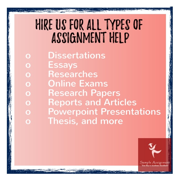 types of assignment help