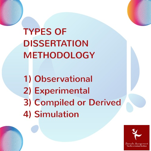 types of dissertation mathodology