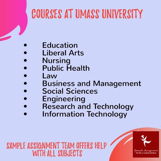 UMass university courses