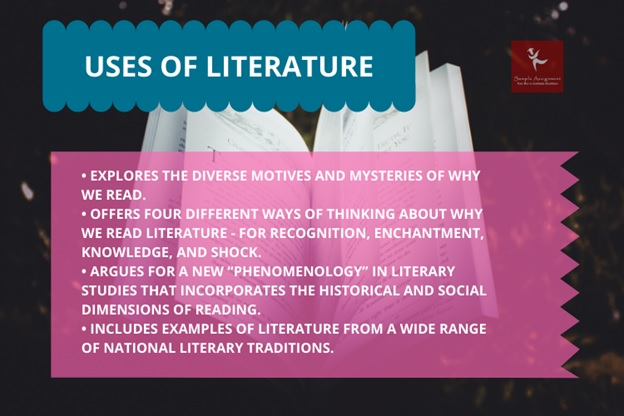use of literature
