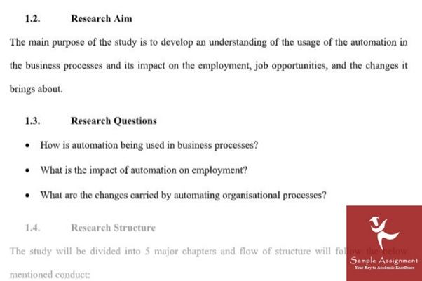 accounting dissertation sample online