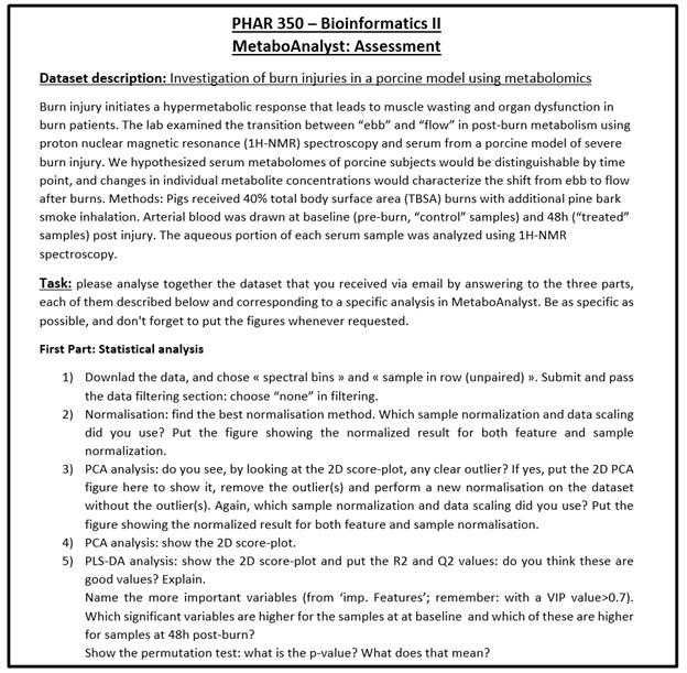 bioinformatics assignment sample Online