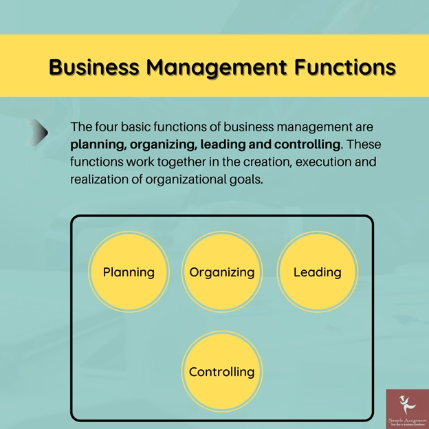 business management functions