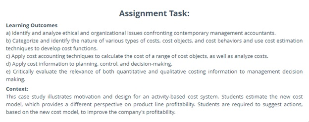 cost accounting help online