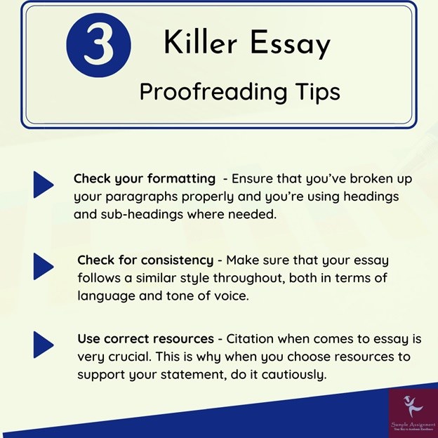 essay proofreading tips