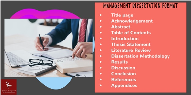 management dissertation format