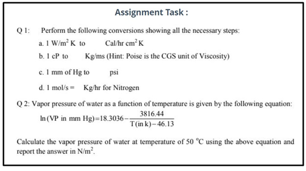 science assignment question example