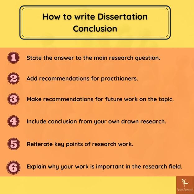 write dissertation conclusion